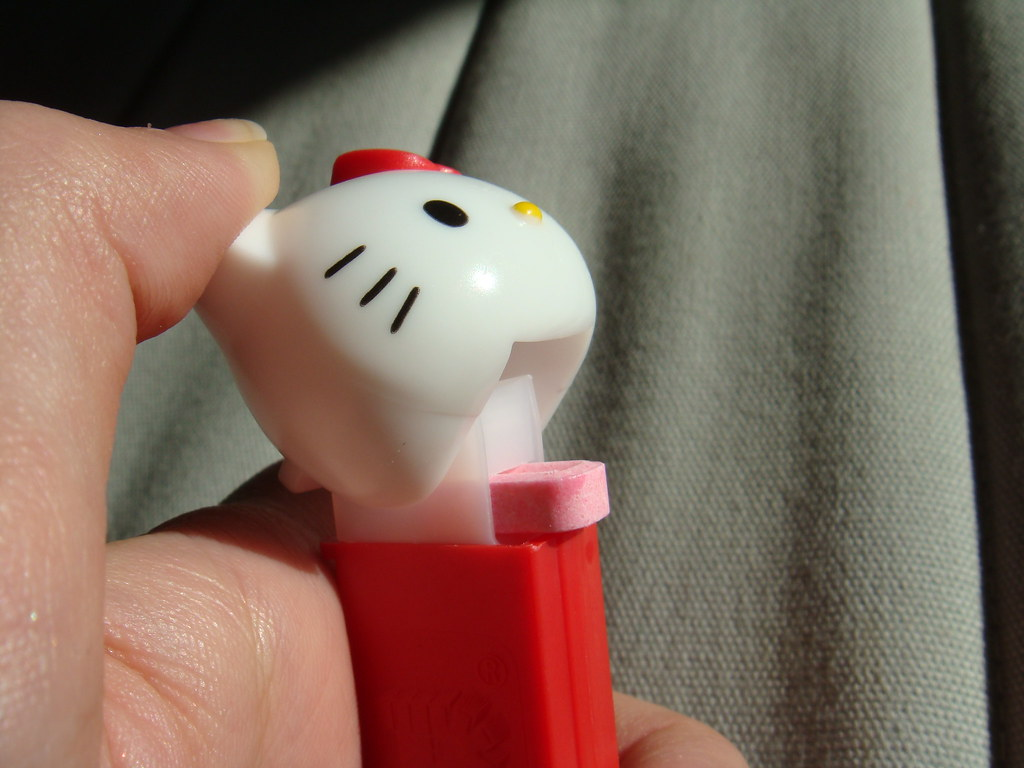 """Hello Kitty PEZ dispenser"""